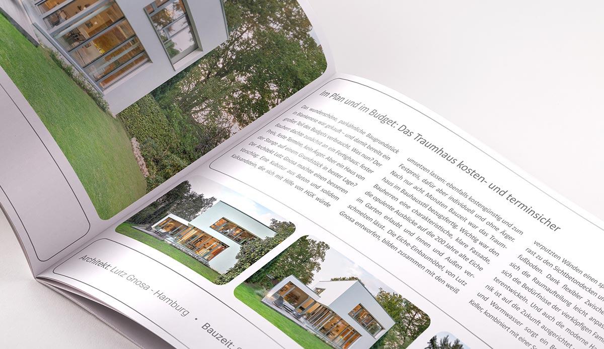 Broschürendruck im Corporate Design