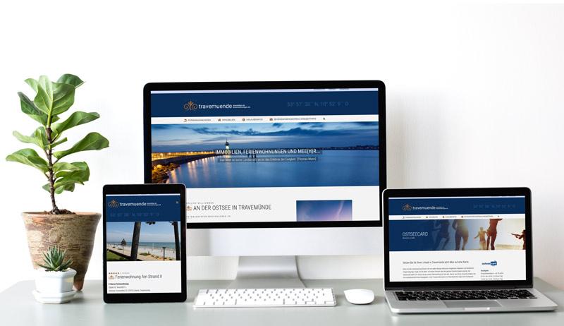Webdesign Referenz Travemuende Ferienwohnungen